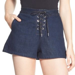 NEW 26 Rag and Bone Resin Dark Washed Shorts
